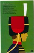 Vintage London underground poster - Ceremonial London